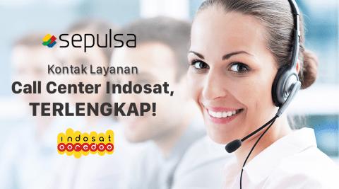 Kontak Layanan Call Center Indosat Lengkap Sepulsa
