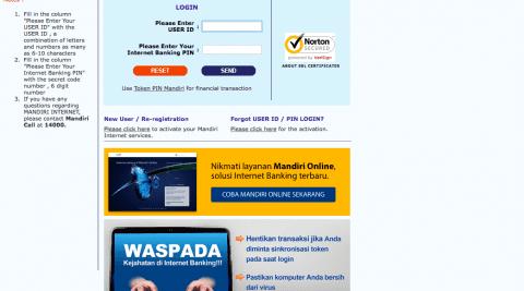 Langkah Langkah Mendaftar Internet Banking Mandiri Sepulsa