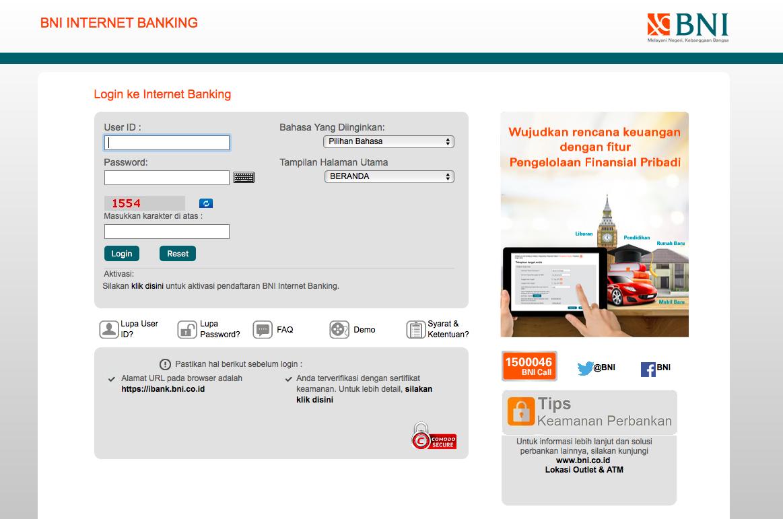 Ingin Mendaftar Internet Banking Bni Ini Syarat Dan Prosedurnya Sepulsa