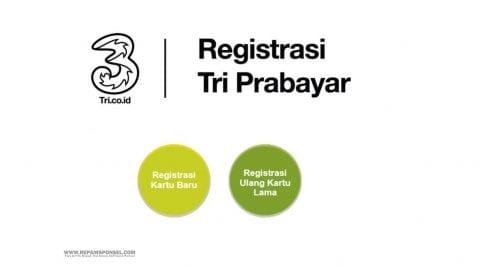 Cara Registrasi Ulang Kartu Tri Sepulsa